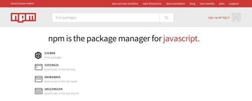 Herramientas útiles para el entorno de programacion Node.js: Node Package Manager