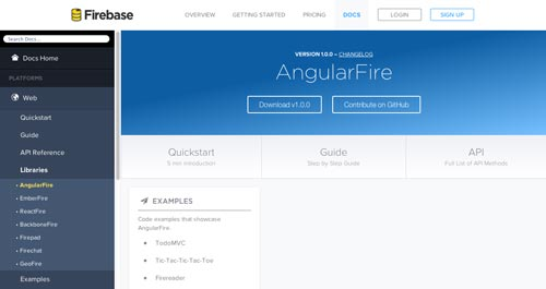 Herramientas útiles para la framework JavaScript AngularJS: AngularFire