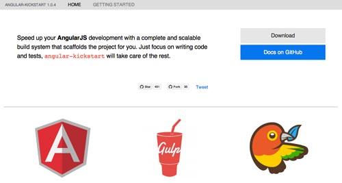 Herramientas útiles para la framework JavaScript AngularJS: Angular-Kickstart