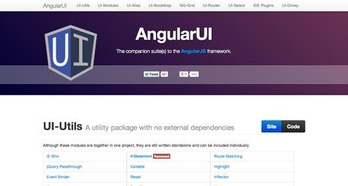 Herramientas útiles para la framework JavaScript AngularJS: AngularUI