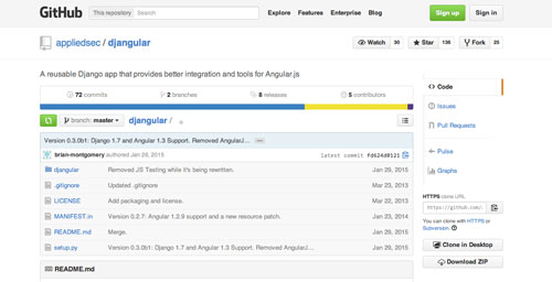 Herramientas útiles para la framework JavaScript AngularJS: Djangular