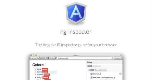 Herramientas útiles para la framework JavaScript AngularJS: ng-Inspector