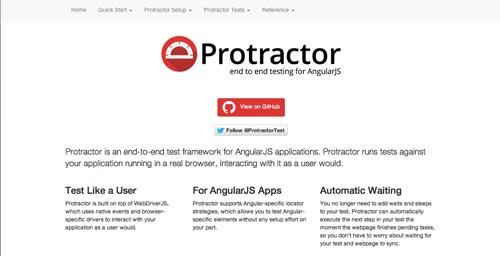 Herramientas útiles para la framework JavaScript AngularJS: Protractor