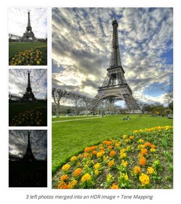 Selección de plugin Photoshop para realizar acciones diversas: Photomatix Pro 5