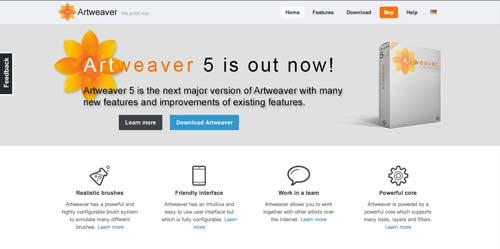 Programas para ordenadores de ilustracion digital: Artweaver