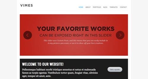 Temas Wordpress de estética minimalista