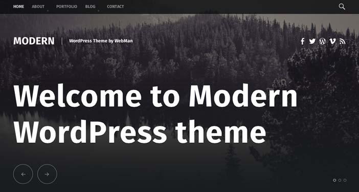Temas Wordpress gratuitos modernos y actuales