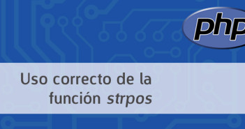Uso adecuado de la funcion PHP Strpos