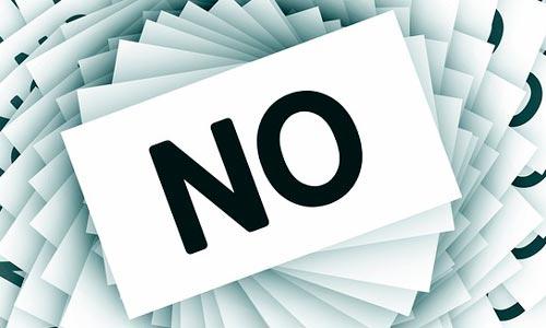 Consejos para asegurar el éxito de tu proyecto de diseño como freelance: Saber cuándo decir no