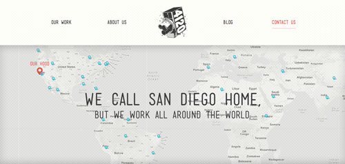Crear sitio web - Consejos para páginas de contactos: Mapas