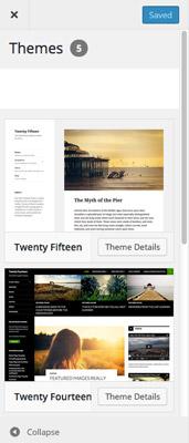 Novedades de WordPress 4.2: Personalizador de temas