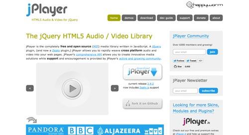 Plugin Jquery para reproducir audio en tu sitio: JPlayer
