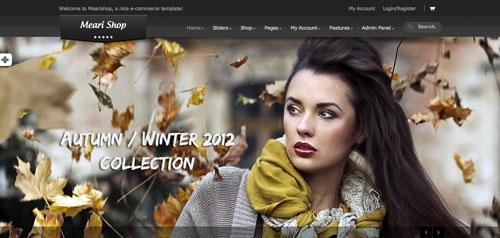 Temas WordPress de pago para tiendas online: Meari Shop