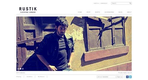Temas WordPress de pago para tiendas online: Rustik