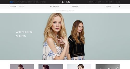 51cb32cb6 Ejemplos de tiendas online de ropa con un gran diseño  Reiss