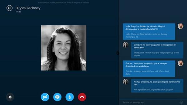 Lanzamiento de Skype Translator: Funciona con llamadas, videollamadas y mensajes