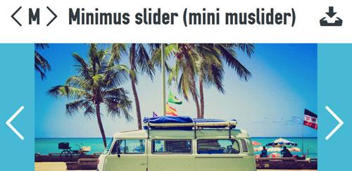 Plugin jQuery para incluir slider de imágenes adaptativos: Minimus slider