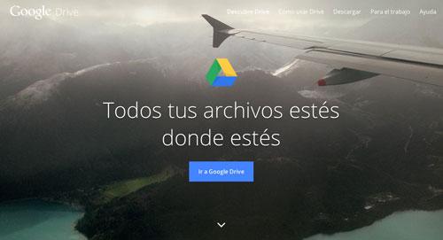Servicios de almacenamiento en la nube gratuito: Google Drive