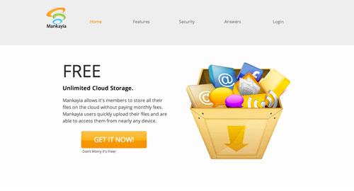 Servicios de almacenamiento en la nube gratuito: Mankayia