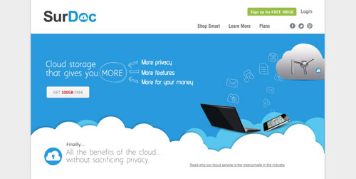Servicios de almacenamiento en la nube gratuito: SurDoc