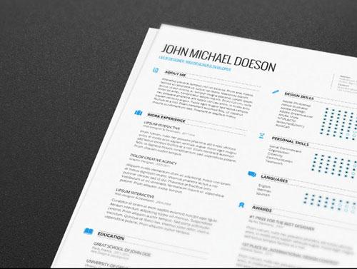 Plantillas de curriculum vitae gratuitas: Free Resume Cover Letter de Demorfoza