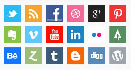 Pack gratuito de iconos de redes sociales: Minimal Social Media Icons de softarea