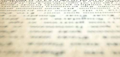 Consideraciones sobre la jerarquía visual en la tipografía: Percepción del texto