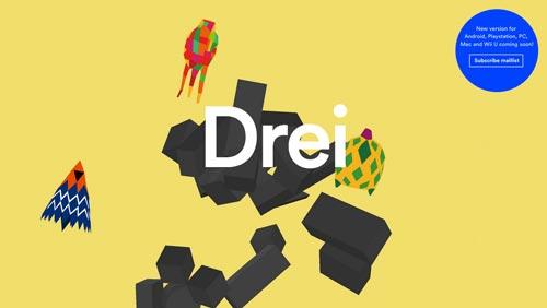 Ejemplos de páginas web que hacen uso de diversos colores: Drei