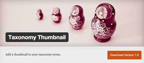 Plugin WordPress para organizar categorías y etiquetas: Taxonomy Thumbnail