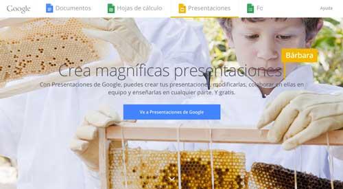 Programas para hacer diapositivas: Google Slides