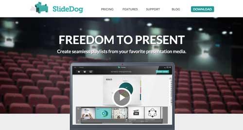 Programas para hacer diapositivas: SlideDog
