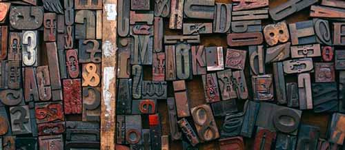 Reglas para un uso efectivo de tipografías: Elegir fuente secundaria
