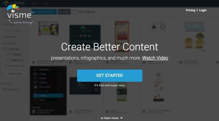 Herramientas online para crear infografías