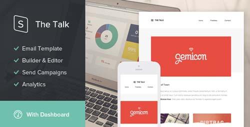 Plantillas HTML para envío de boletines informativos: The Talk