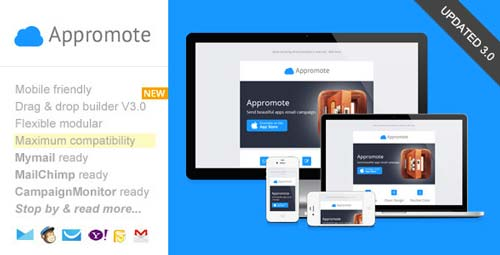 Plantillas HTML para envío de boletines informativos: Appromote