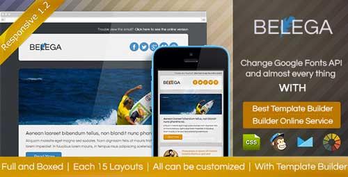 Plantillas HTML para envío de boletines informativos: Belega