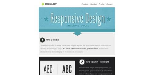 Plantillas HTML para envío de boletines informativos: Emailology