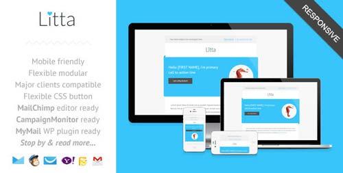 Plantillas HTML para envío de boletines informativos: Litta