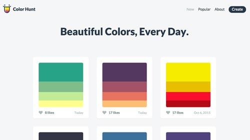 recursos-desarrollo-web-seleccion-colores-colorhunt