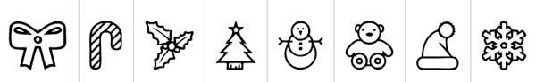 fuentes-gratuitas-iconos-navidenos-ChristmasIcons