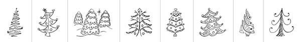 fuentes-gratuitas-iconos-navidenos-FunChristmasTrees