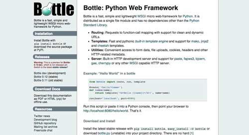 listado-python-frameworks-bottle