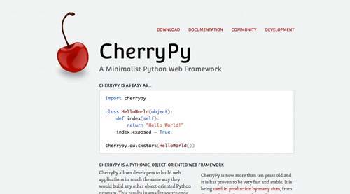 listado-python-frameworks-cherrypy