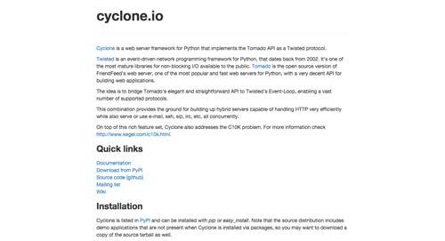 listado-python-frameworks-cycloneio
