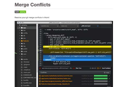 Atom Packages que todo desarrollador necesita: Merge Conflict