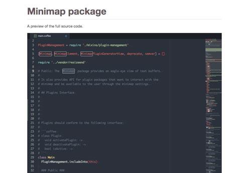 Atom Packages que todo desarrollador necesita: Minimap