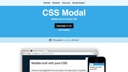 Capacidades ocultas del lenguaje CSS: CSS Modal