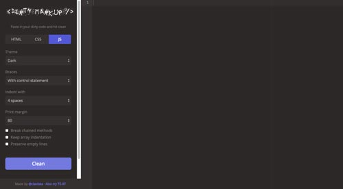 editor-javascript-en-linea-pruebas-depurar-DirtyMarkup