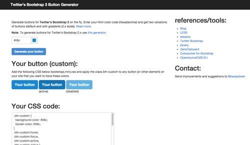 generador-de-botones-bootstrap-TwittersBootstrap3ButtonGenerator