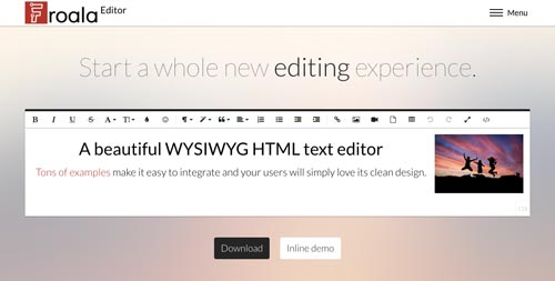herramientas-incluir-editor-wysiwyg-Froala